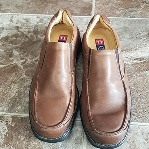 Brown Mens Slip-On Shoes